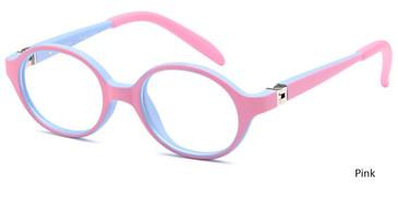 Pink Capri T27 Eyeglasses.