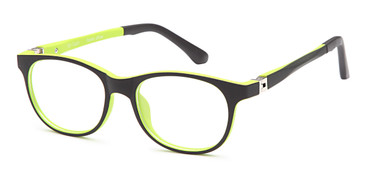 Black Capri Trendy T28 Eyeglasses