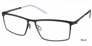 Black Free-Form FFA971 Eyeglasses