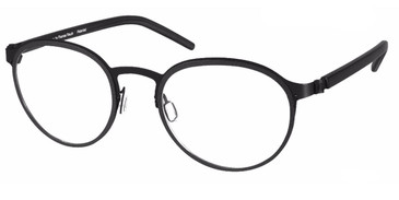 Black Free Form FFA972 Eyeglasses - Teenager
