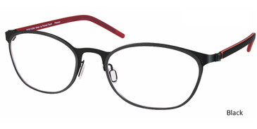Black, Free-Form FFA976 Eyeglasses