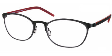 Black Free-Form FFA976 Eyeglasses