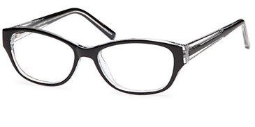Black CAPRI 4U US74 Eyeglasses