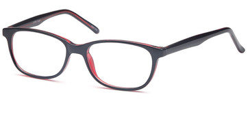 Black Wine CAPRI 4U U208 Eyeglasses - Teenager