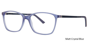 Matt Crystal Blue Vivid Collection 236 Eyeglasses