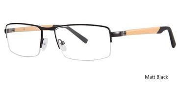 Matt Black Vivid 3008 Eyeglasses