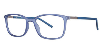 Matt Crystal Light Blue/W Blue Vivid Collection 240 Eyeglasses