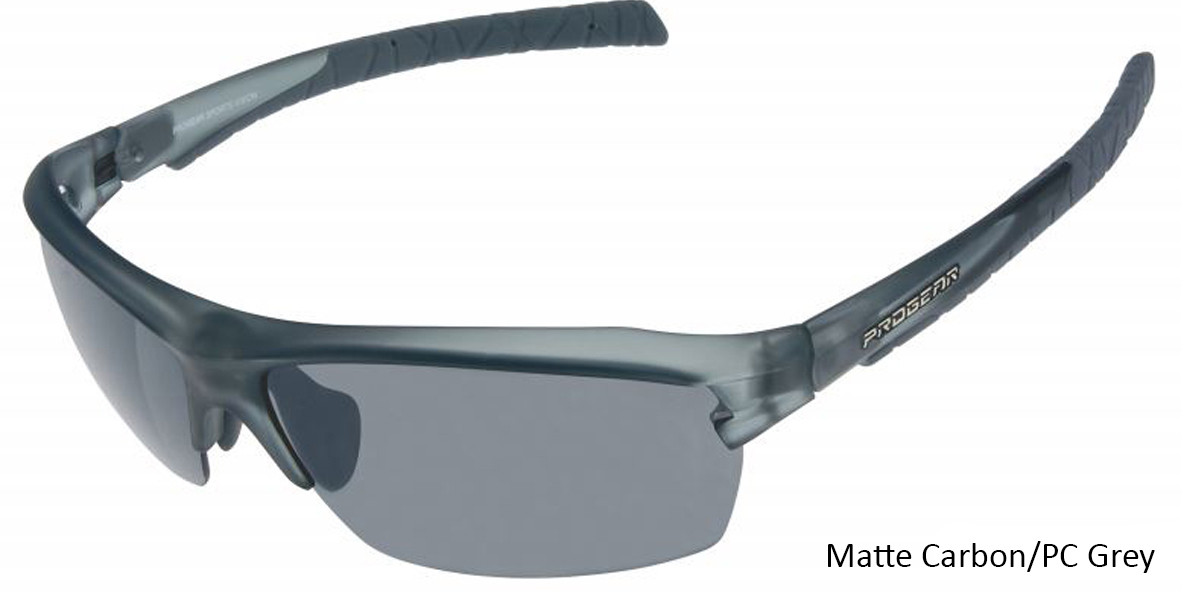 Matte Carbon/PC Grey Racer 1283.