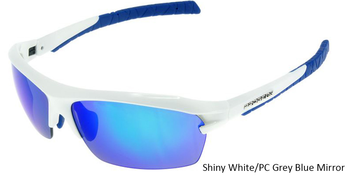 Shiny White/PC Grey Blue Mirror Racer 1283.
