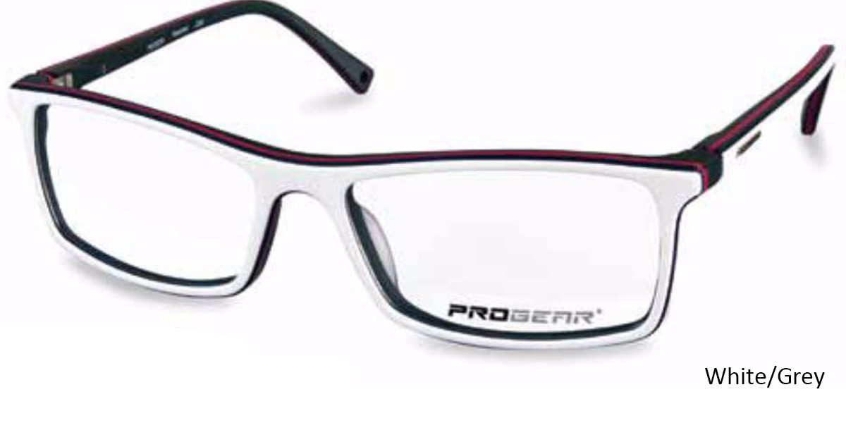 White/Grey Progear OPT-1131 Eyeglasses