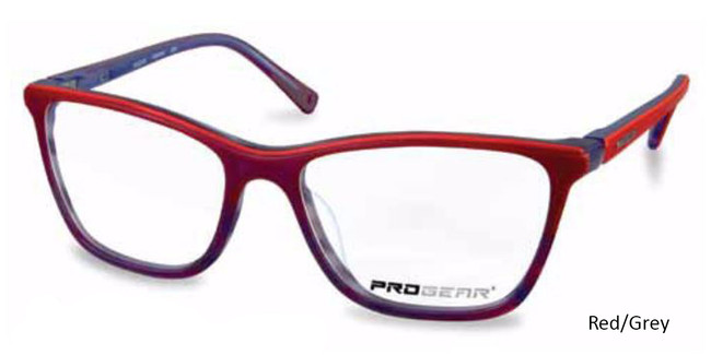 Red/Grey Progear OPT-1132 Eyeglasses
