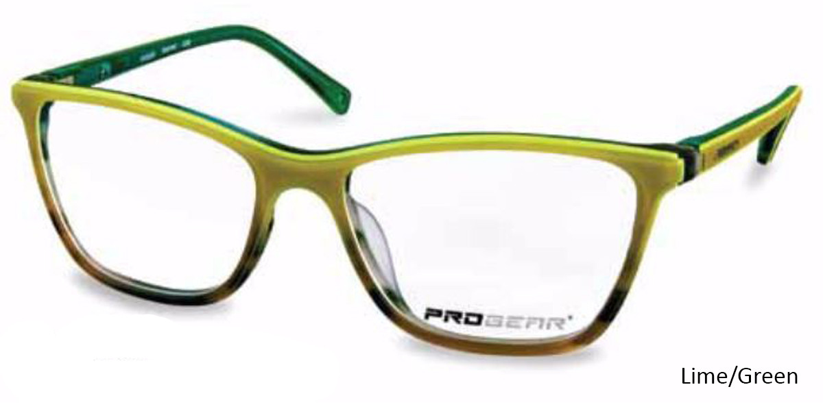 Lime/Green Progear OPT-1132 Eyeglasses