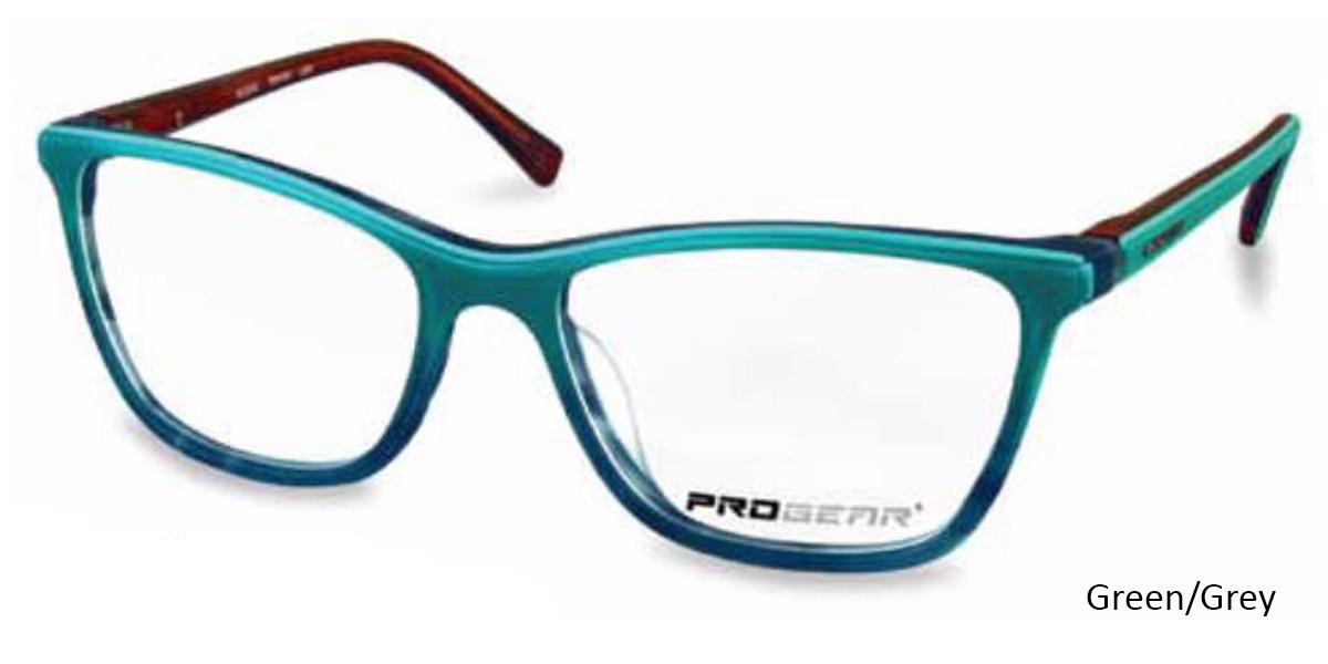 Green/Grey Progear OPT-1132 Eyeglasses