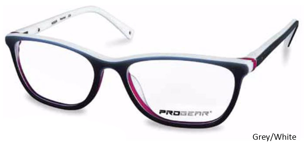 Grey/White Progear OPT-1133 Eyeglasses