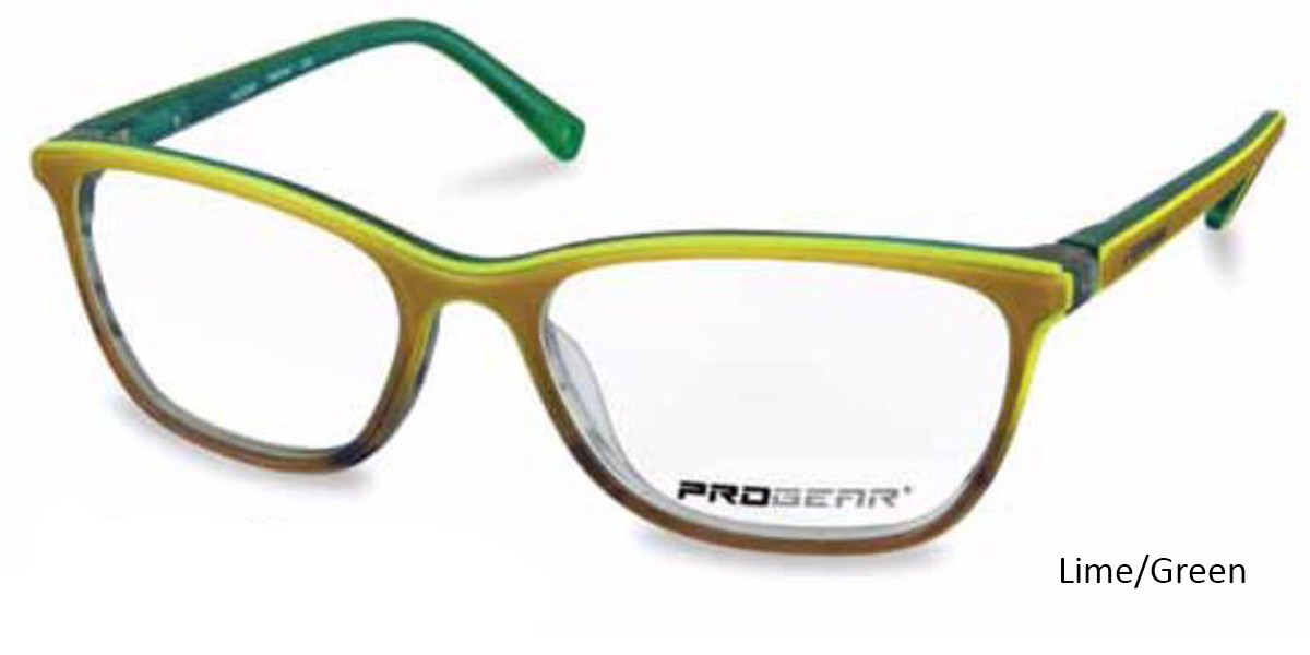 Lime/Green Progear OPT-1133 Eyeglasses