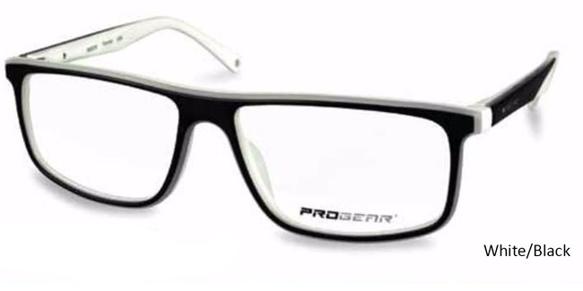 white/Black Progear OPT-1135 Eyeglasses