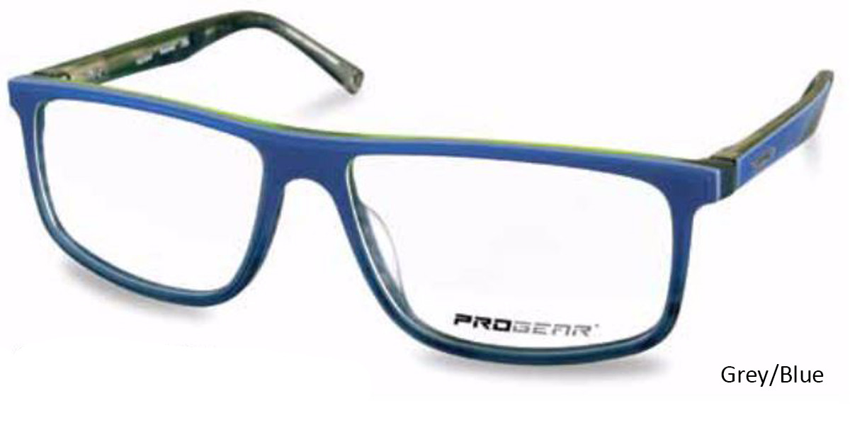 Grey/Blue Progear OPT-1135 Eyeglasses