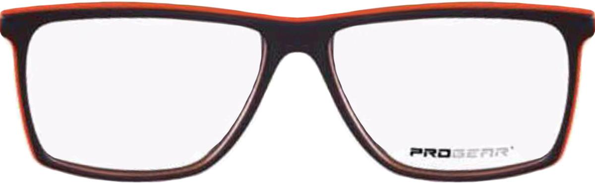 Brown/Orange Progear OPT-1136 Eyeglasses