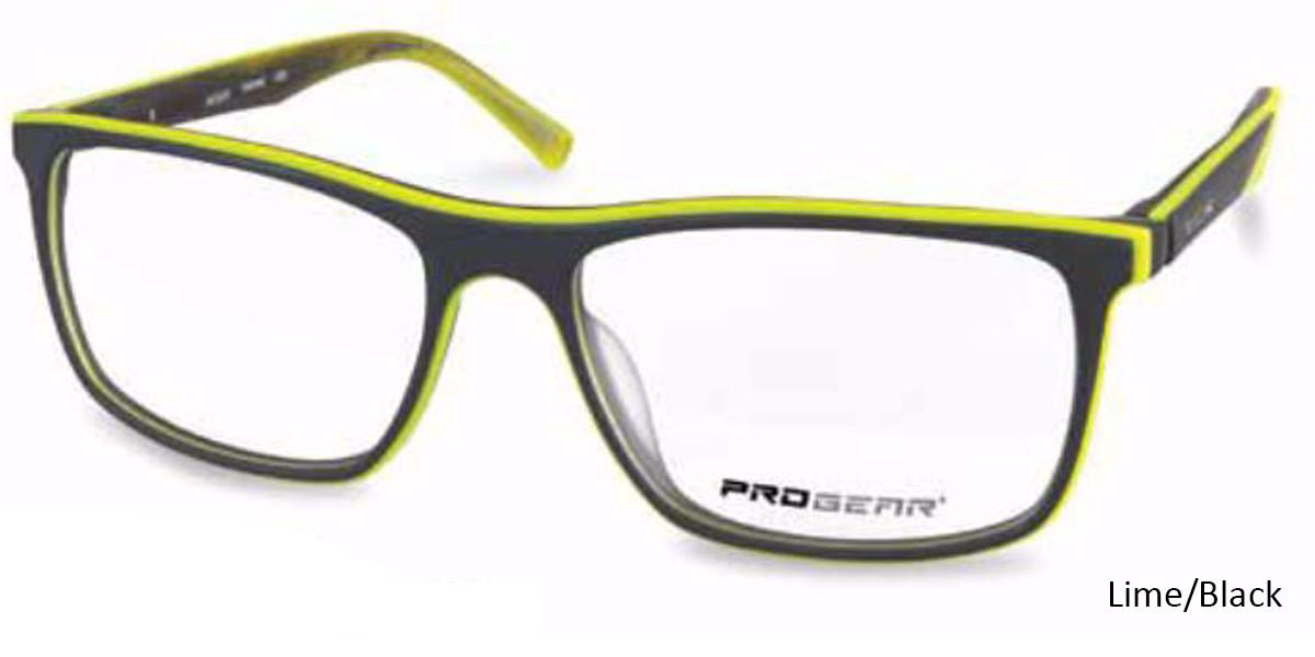 Grey/Lime Progear OPT-1137 Eyeglasses