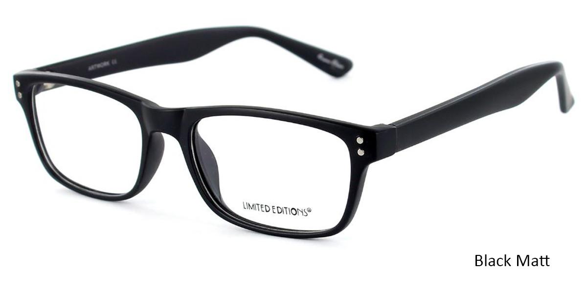 Black Limited Edition Artwork Eyeglasses