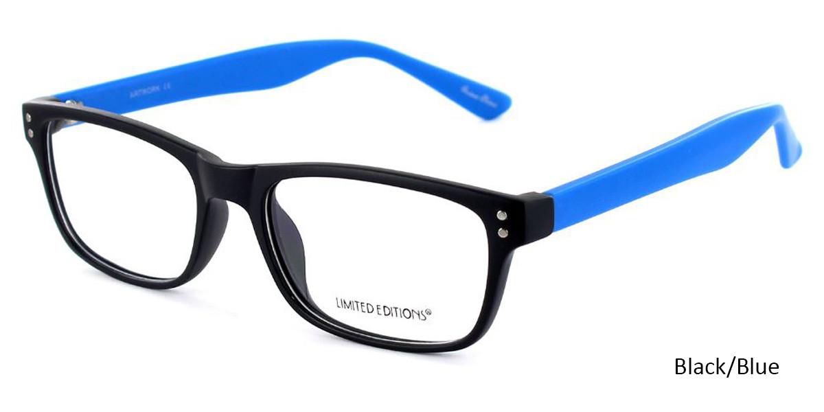 Black/Blue Limited Edition Artwork Eyeglasses