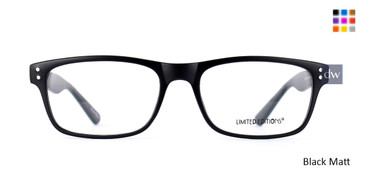 Black Limited Edition Artwork Eyeglasses