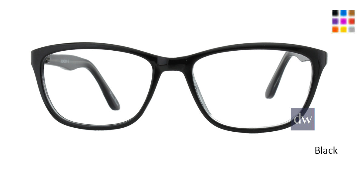 Black Limited Edition Broadway Eyeglasses