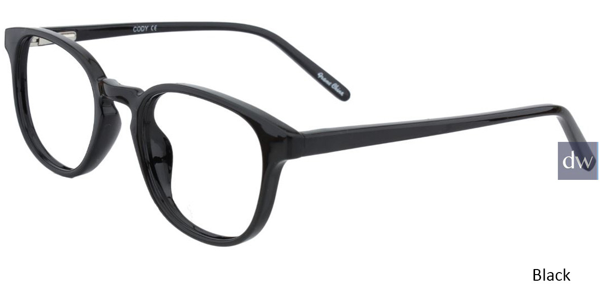 Black Limited Edition Cody Eyeglasses