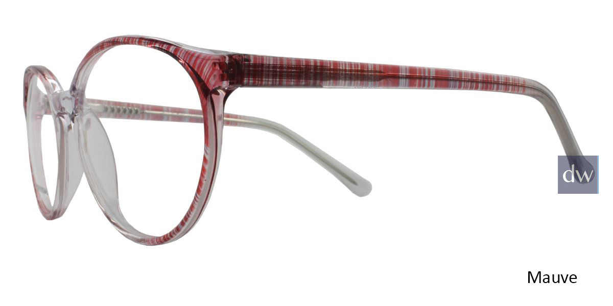Mauve Limited Edition Diedre Eyeglasses