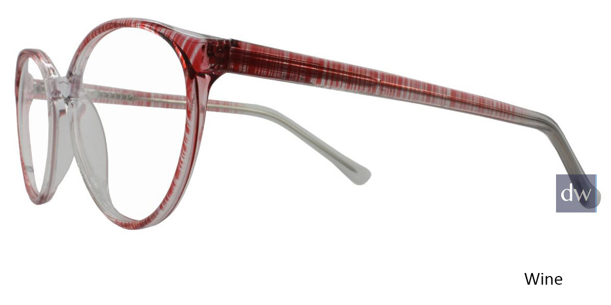 Wine Limited Edition Diedre Eyeglasses