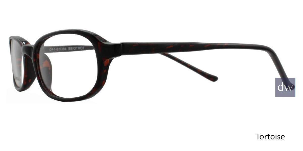 Tortoise Limited Edition Downtown Eyeglasses - Teenager