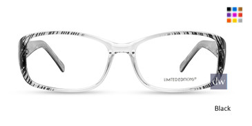 Black Limited Edition EVELYN Eyeglasses