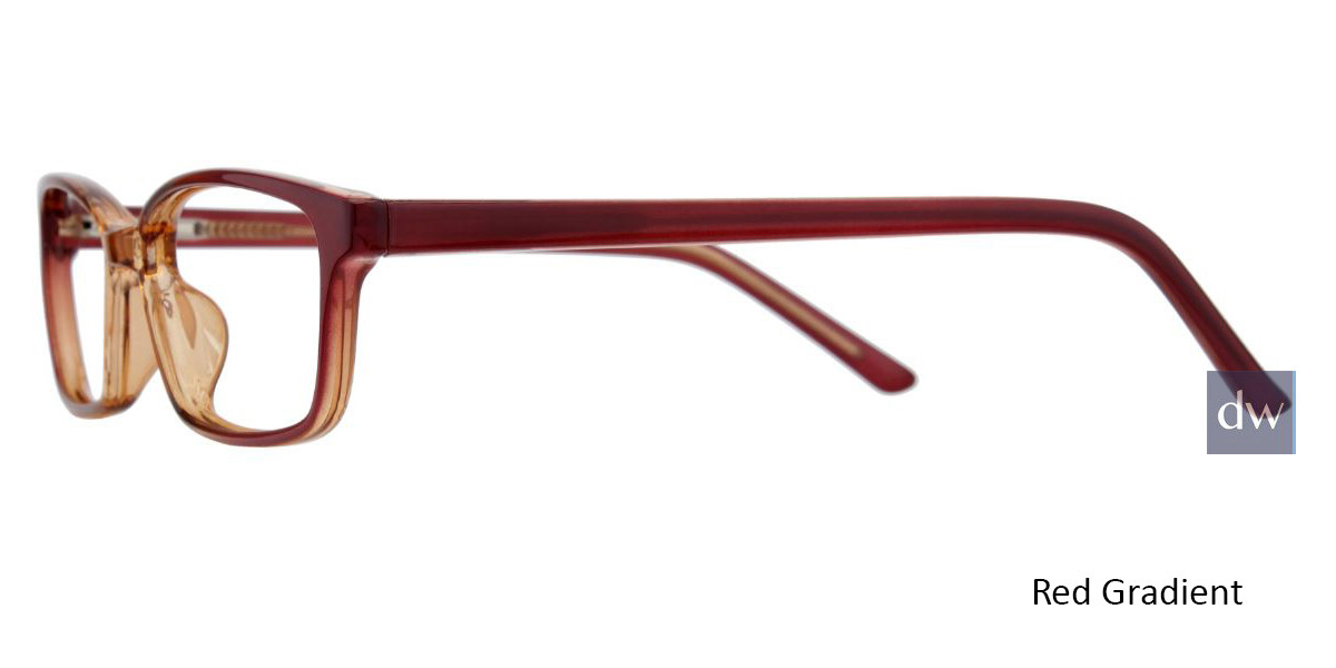 Red/Gradient Limited Edition LTD 703 Eyeglasses