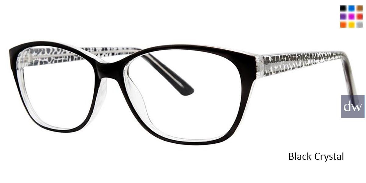 Black Crystal Vivid Soho 130 Eyeglasses
