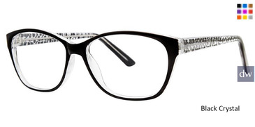 Black Crystal Vivid Soho 130 Eyeglasses