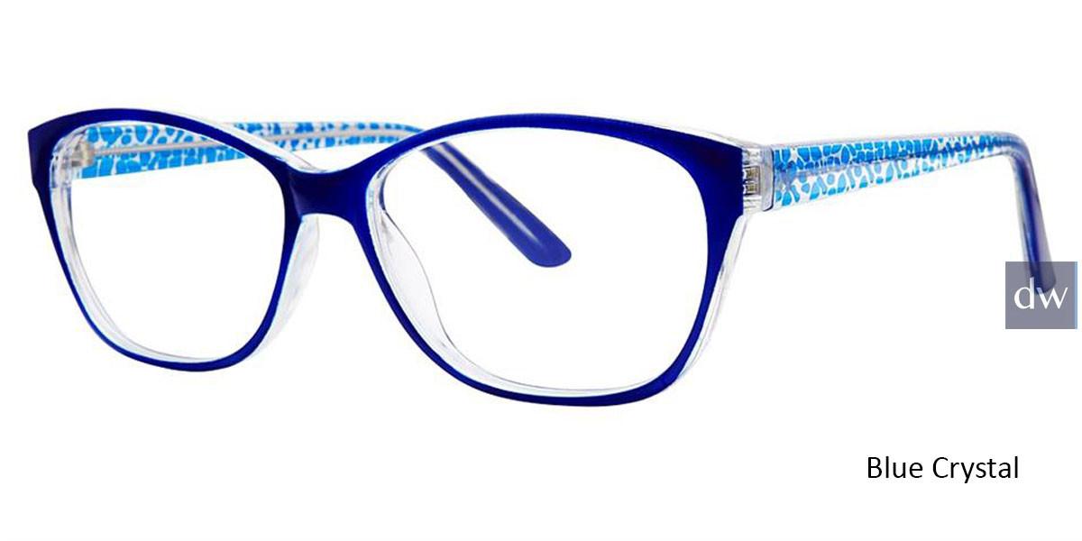 Blue Crystal Vivid Soho 130 Eyeglasses