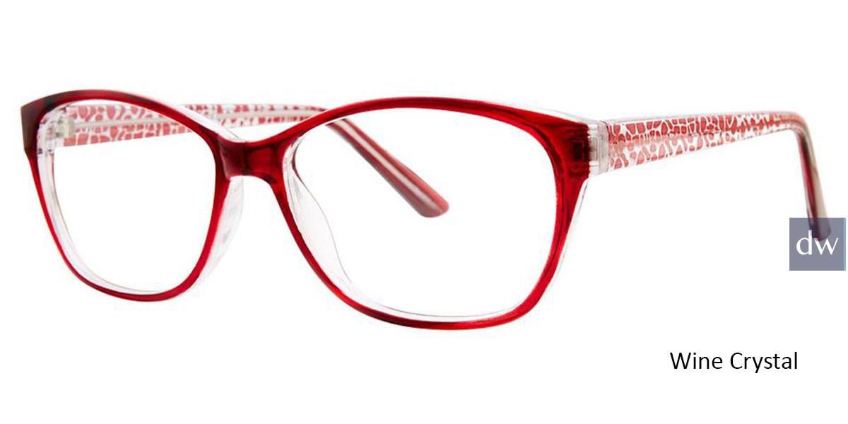 Wine Crystal Vivid Soho 130 Eyeglasses