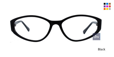 Black Limited Edition Sophia Eyeglasses