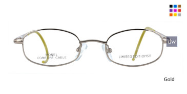 Gold Limited Edition Sunshine Eyeglasses