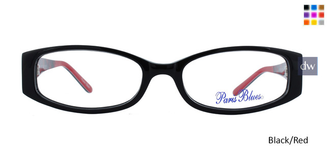 PARIS BLUES 106 Black/Red