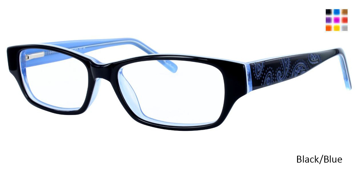 PARIS BLUES 107 Black/Blue