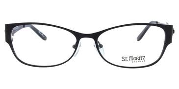 Black ST. Moritz LUCY Eyeglasses