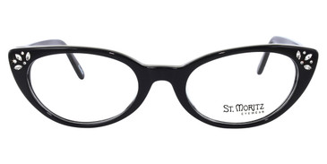 Black ST. Moritz RHONA Eyeglasses