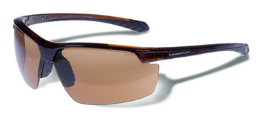 Gargoyles STAKEOUT Crystal Brown stripes/Brown Sunglasses