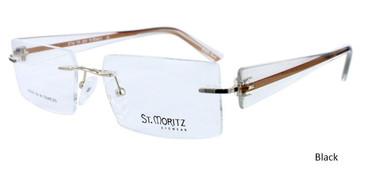 Black ST. Moritz STM TR 200 Eyeglasses