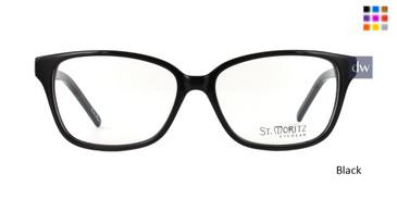 Black ST. Moritz STELLA Eyeglasses