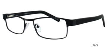 Black ST. Moritz TUSCOLA Eyeglasses