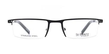 Black ST. Moritz TRAVIS Eyeglasses