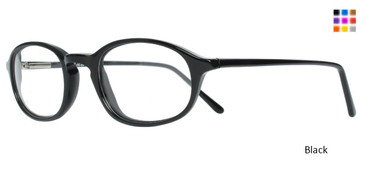 Black WOMANS DAY 110 Eyeglasses - Teenager