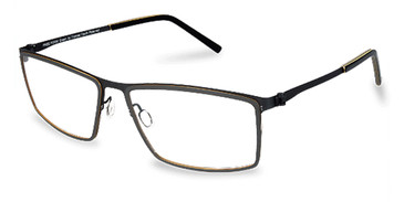 Black Free-Form FFA971L Eyeglasses
